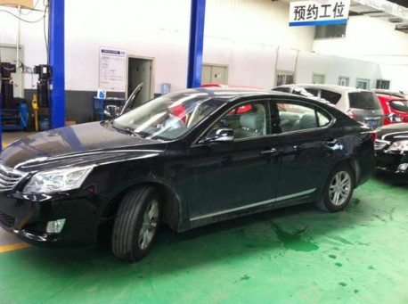 production version of the Chang'an Raeton