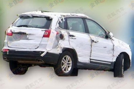 new Chery Tiggo testing in China