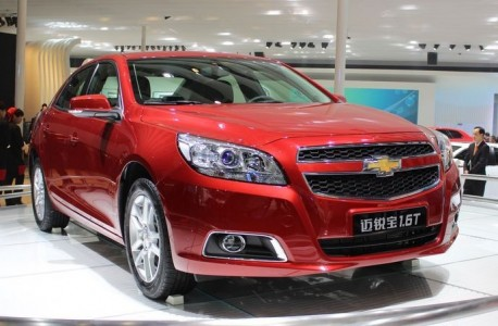 Chevrolet Malibu 1.6 Turbo debuts in China