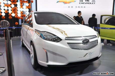 Spy Shots: Chevrolet Sail EV testing in China