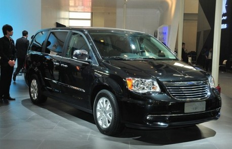 Chrysler Grand Voyager comes to China