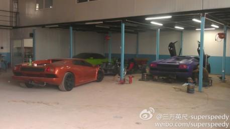 The 'Diablo Auto' Lamborghini Diablo from China