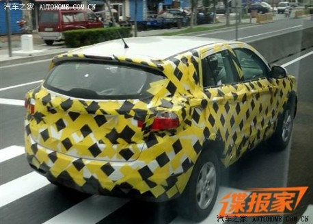 Dongfeng Fengshen SUV based on Nissan Qashqai