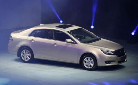 FAW-Besturn B90 launched on the China auto market