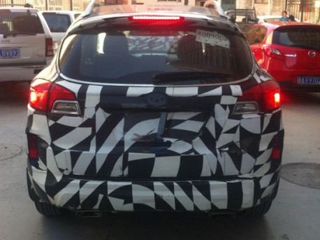 FAW-Besturn X80 SUV is almost ready