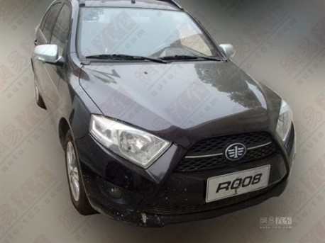 FAW R008 in black in China