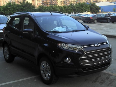 Ford Ecosport is in Production in China