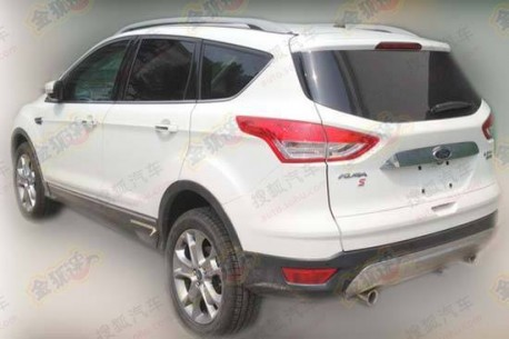 Ford Kuga S testing in China