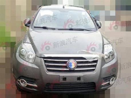 Geely Englon SX7 testing again in China