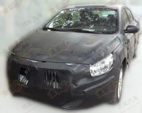 Guangzhou Auto AF seen testing in China