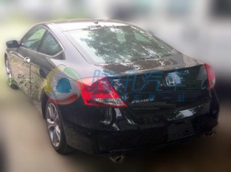Honda Accord Coupe testing in China