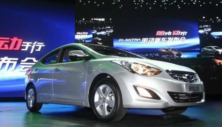 Beijing-Hyundai Elantra Langdong hits the China auto market
