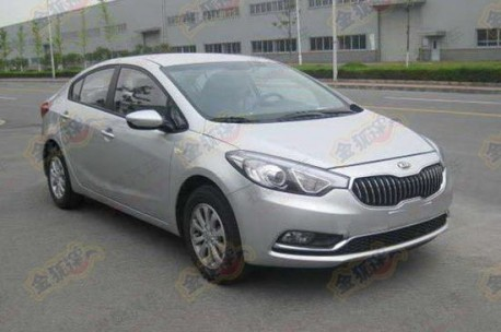 First Picture of the China-made Kia K3