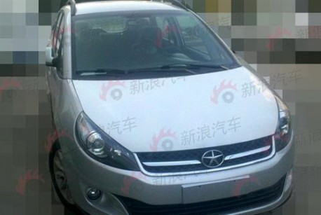 facelift for the JAC Heyue RS in China
