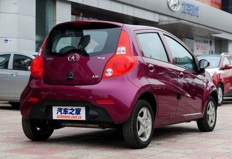 facelift for the JAC Yueyue in China