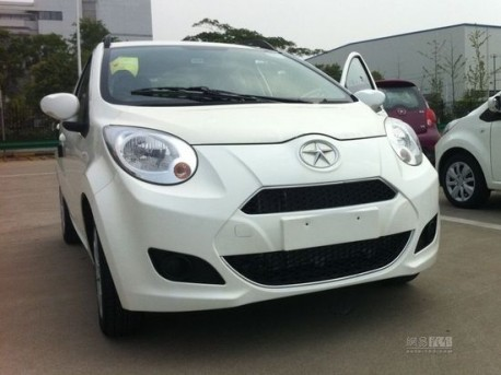facelifted JAC Yueyue