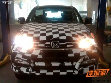 Jiangling Yusheng SUV in China