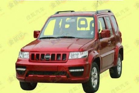Jonway clones the Suzuki Jimny in China
