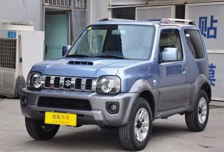 Jonway clones the Suzuki Jimny in China