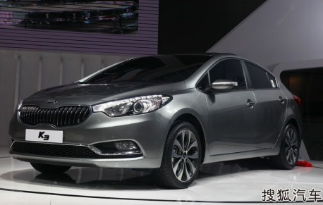 Kia K3 launched in China
