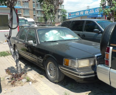 Spotted in China: Lincoln Town Car