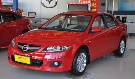 Mazda 6 in China