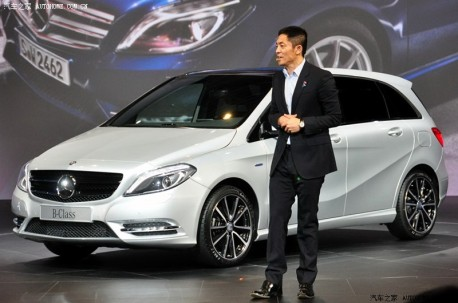 Mercedes-Benz B-class hits the Chinese auto market