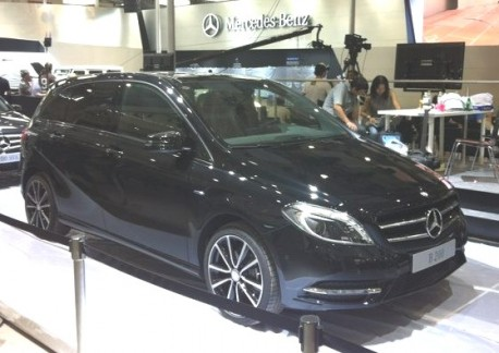 Mercedes-Benz B-class China