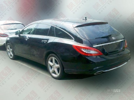 Mercedes-Benz CLS Shooting Brake pops up in China