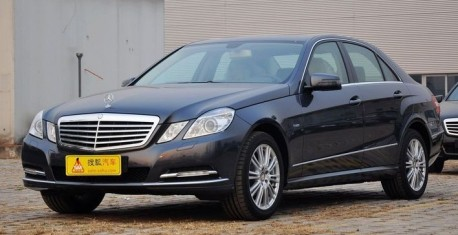 facelift for the Mercedes-Benz E-L in China