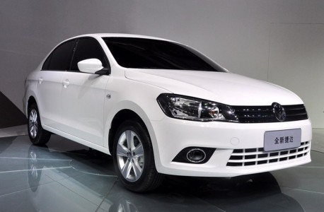new Volkswagen Jetta debuts in China