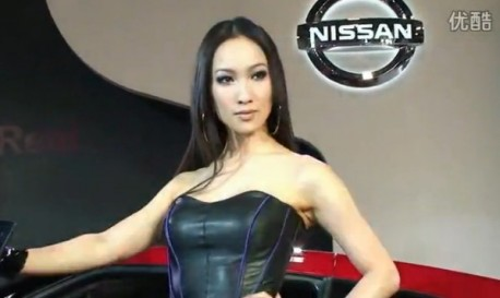 Nissan girls in China