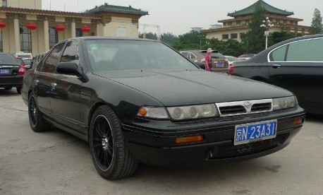 Spotted in China: Nissan Laurel Altima