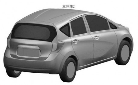 new Nissan Livina (Nissan Note) for China