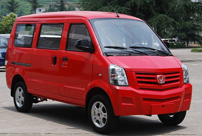 Shanxi Victory From China Clones Cadillac For Minivan