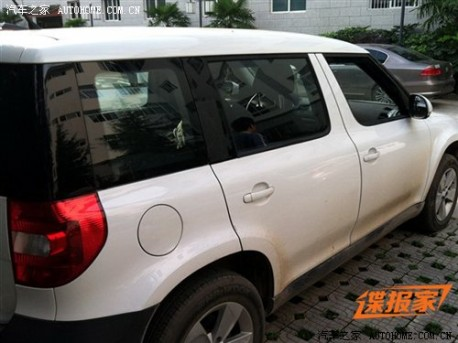 China-made Skoda Yeti will be stretched by 60mm