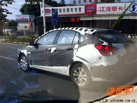 SouEast V6 testing in China