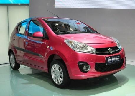 facelifted Suzuki Alto debuts in China