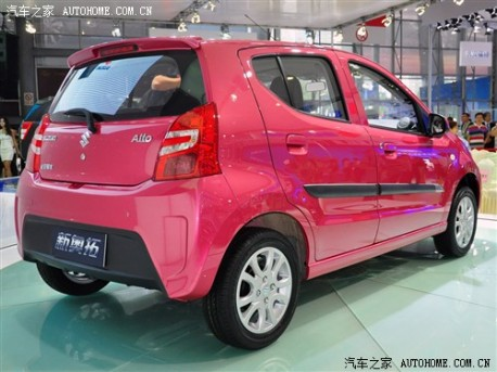facelifted Suzuki Alto debuts in China