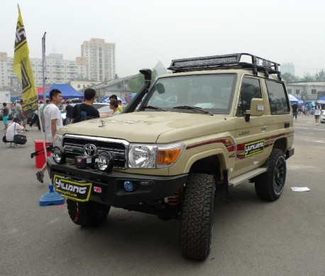 Toyota Land Cruiser J70 is Pimped in China