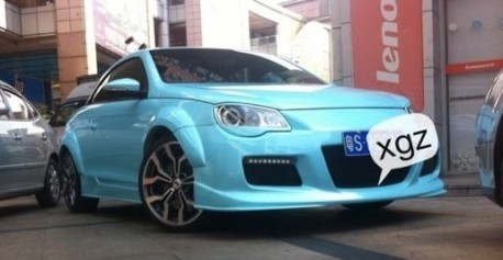 Volkswagen Eos gets a pretty body kit in China