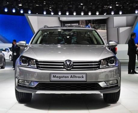 Volkswagen Magotan Alltrack will hit the China auto market in September