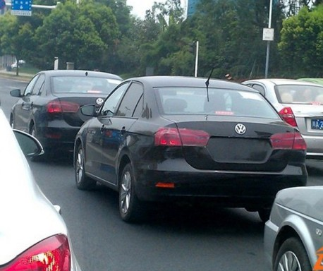 New Volkswagen Jetta spied in China