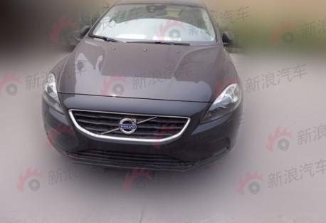 Volvo V40 T5 testing in China