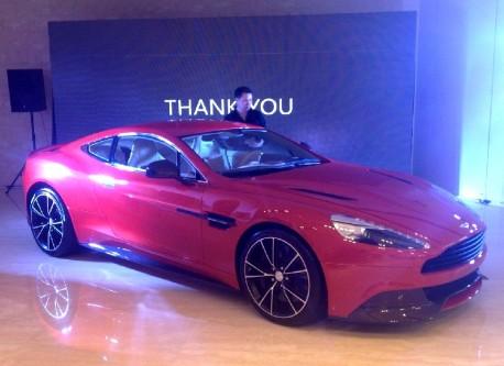 New Aston Martin Vanquish arrives in China