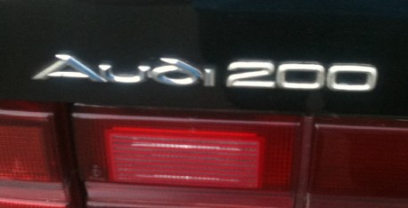 Spotted in China: Audi 200 2.6 V6