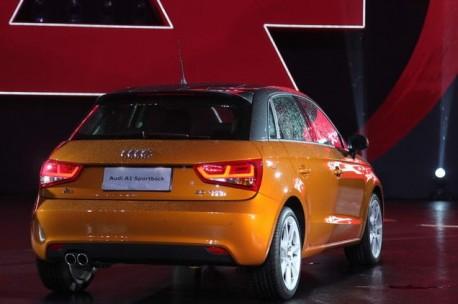 Audi A1 Sportback hits the Chinese auto market