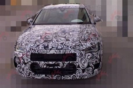 Spy Shots: Audi A3 will be made in China from 2014