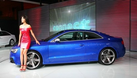 Chengdu Auto Show: Audi RS5 Coupe launched in China