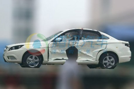 Spy Shots: Beijing Auto C50E testing in China again
